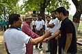 Arup Roy Shakes Hands with Nilargha Chowdhury - Summer Camp - Nisana Foundation - Sibpur BE College Model High School - Howrah 2013-06-09 9736.JPG