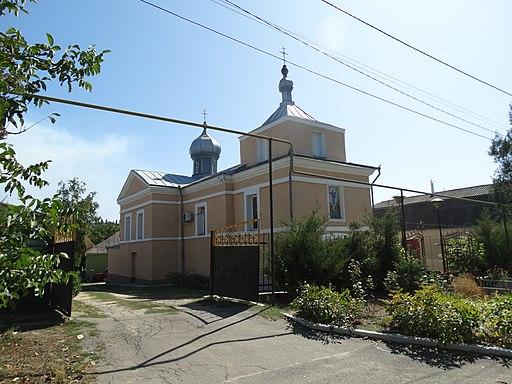 Ascension church in Okny 2