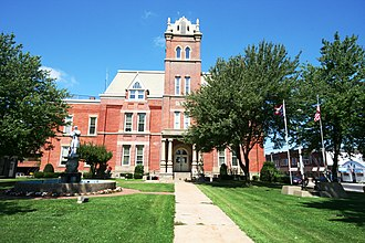 Jefferson, Ohio - Ashtabula County Courthouse