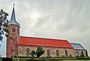 Astrup, Mariagerfjord - Astrup church