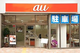 au (mobile phone company) Japanese telecommunication company