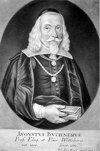 August Buchner - Buchner , engraving by Johann Jacob Haid