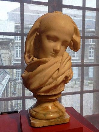 Museum of Fine Arts, Reims - Image: Auguste Rodin Jeune Alsacienne (2)