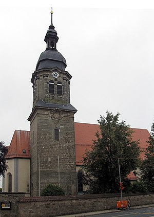 Aurach, Germany - Church in Aurach