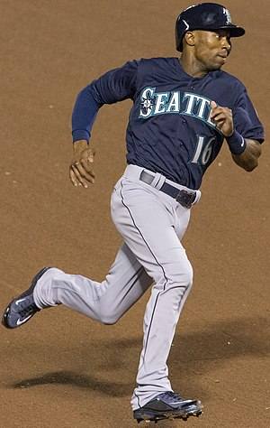 Austin Jackson - Jackson playing for the Seattle Mariners in 2014
