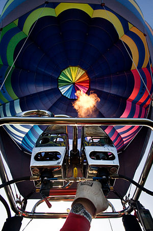 English: Hot Air Balloon Festival - Primagaz B...