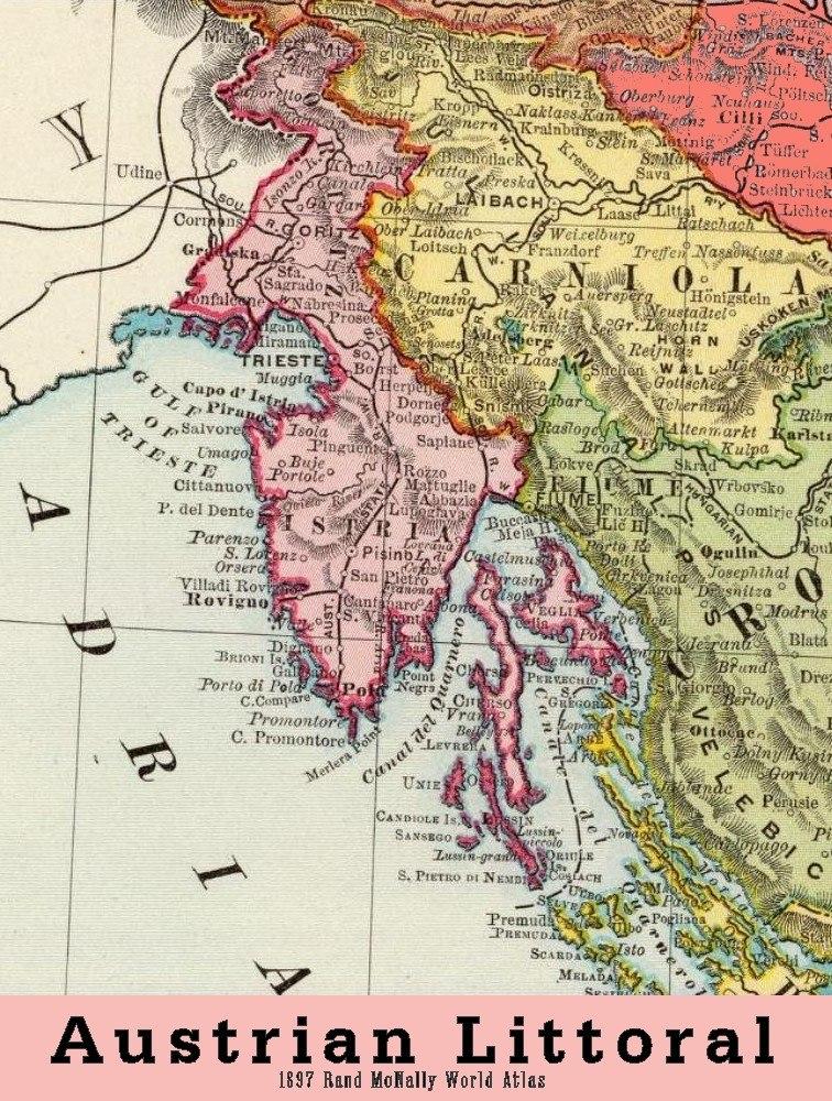 Austrian Littoral 1897