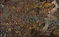 Autor nieznany (malarz z kręgu Lukasa Cranacha Starszego), Bitwa pod Orszą.jpg