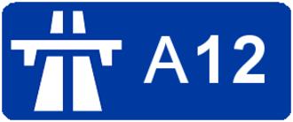 A13 autoroute - Image: Autoroute A12