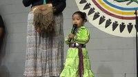 File:Autumn Dizhon Clah, 2 Names Clans sings the national anthem in Navajo.webm