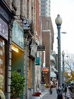Avenue Greene, Westmount (île de Montréal) 2005-11-10
