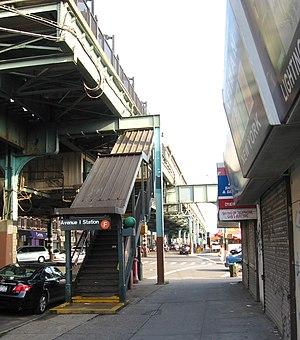 Avenue I (IND Culver Line) - Western stair