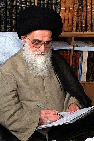Sadeq Rohani - Image: Ayatollah Rohani 2