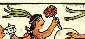 Matlaccohuatl - Image: Aztec drums