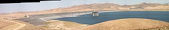 San Luis Dam - Image: B.F. Sisk dam on San Luis Reservoir