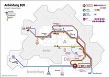 berlin brandenburg airport map Berlin Brandenburg Airport Wikipedia berlin brandenburg airport map