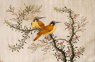 Paisatge amb ocells (oriental)