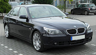 BMW 5 Series (E60) Fifth generation of the 5 Series executive car manufactured by German automobile manufacturer BMW from 2003 to 2010