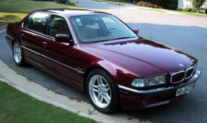 1998 BMW E38 750iL, photographed in Woodstock,...