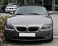BMW Z4 2.2i (E85) – Frontansicht, 26. Juni 2011, Mettmann.jpg