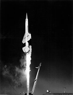 CIM-10 Bomarc A long-range surface-to-air missile