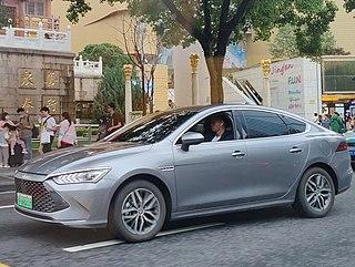 BYD Qin Motor vehicle