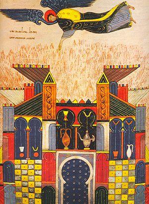 Mozarabic art and architecture - Beatus of Facundus: Judgement of Babylon