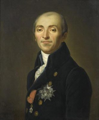 Bernard Germain de Lacépède - Bernard Germain de Lacépède; portrait by Jean-Baptiste Paulin Guérin, 1842