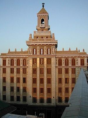 Bacardi - The Bacardi Building in Havana, Cuba