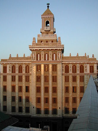 Bacardi - The Bacardi Building in Havana, Cuba