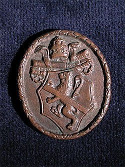 Back of bronze medal of Pope Paul II by Cristoforo di Geremia.jpg