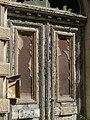 Bad Blankenburg - ehem. Hotel Chrysopras - Südost-Fassade - Portal Detail 2.jpg