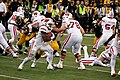 Badgers against Hawkeyes 2014 - Melvin Gordon running the ball1.jpg