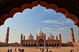 Badshahi Mosque mosque in Pakistan