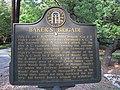 Baker's Brigade historical marker 02.jpg