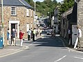 Bampton , Back Street and Tour of Britain Cycle Race - geograph.org.uk - 1493821.jpg
