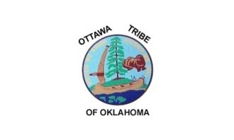 Ottawa Tribe of Oklahoma - Image: Bandera Ottawa nation