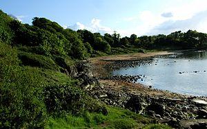 Bangor, County Down - Bangor's coastline