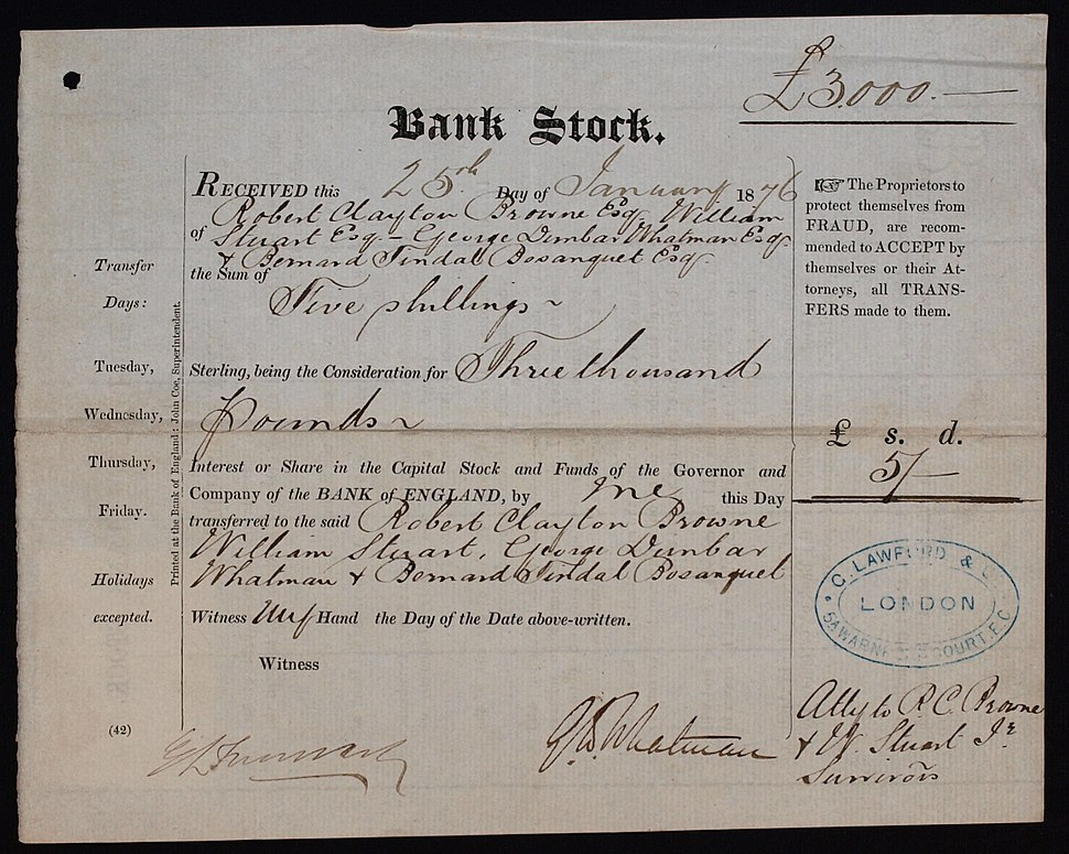 Bank of England 1876