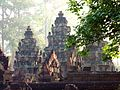 Banteay Srei - 003 Temple at Dawn (8582529932).jpg