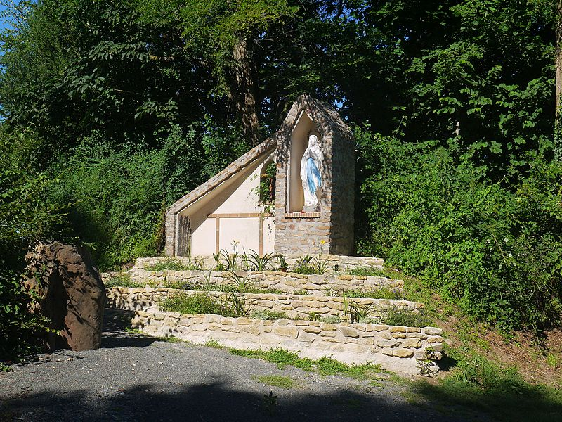 La grotte de Lourdes en 2016.