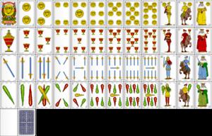 карты как испанские играть игральные