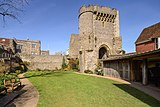 Barbican To Lewes Castle And Walls To South 2018 02.jpg