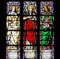 Barcelona Santa Maria del Mar Stained Glass window 03.jpg