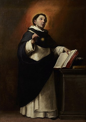 Thomas Aquinas by Bartolomé Esteban Murillo, 1650