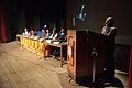 Basab Chaudhuri Addressing - Inaugural Function - Bengali Wikipedia 10th Anniversary Celebration - Jadavpur University - Kolkata 2015-01-09 2629.JPG