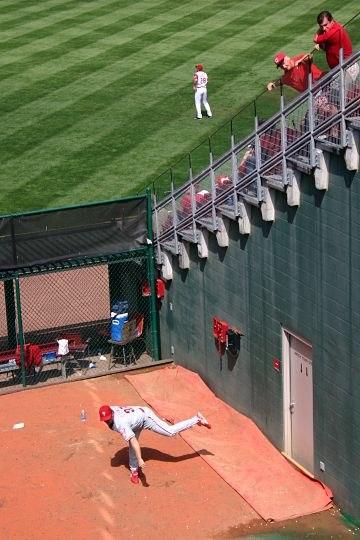 Baseball bullpen 2004