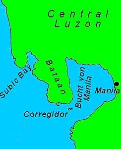 Lage der Bucht