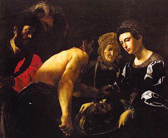 Battistello Caracciolo - Image: Battistello Salome