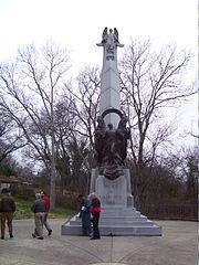 Battle of Nashville Monument 12-15-2007